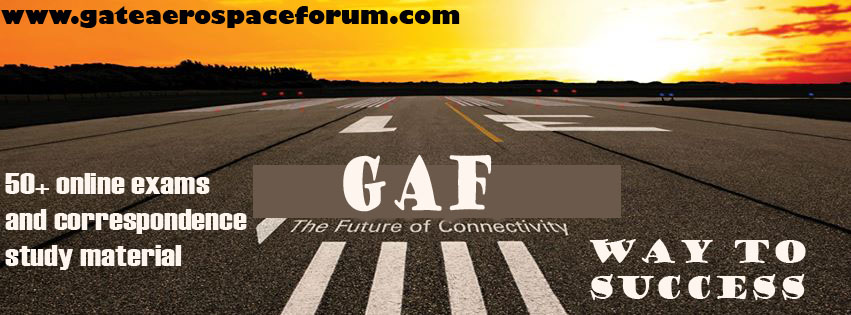 GATE Aerospace Forum Offers in Correspondence material/All India